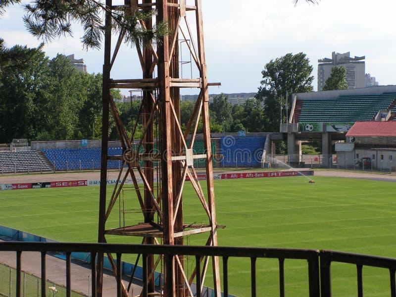 "Stadio ""trattore ""Minsk, Bielorussia fotografia stock"