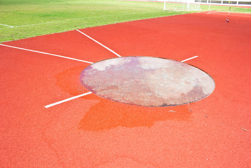 Stadio atletico fotografia stock libera da diritti