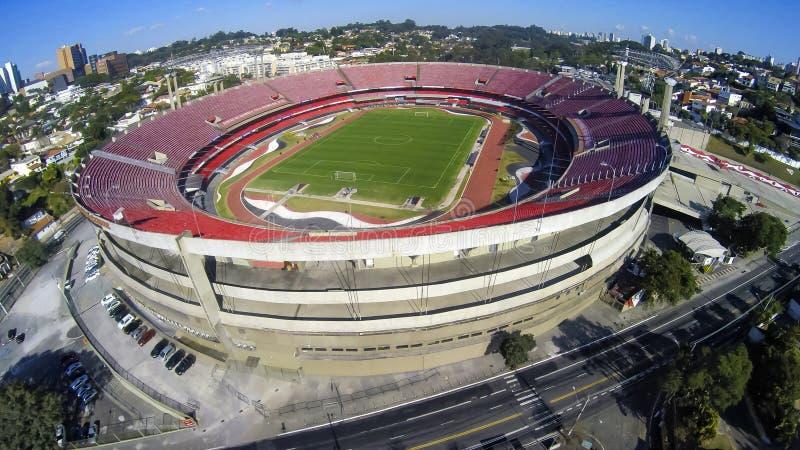 Stadio Cicero Pompeu de Toledo, Brasile immagine stock