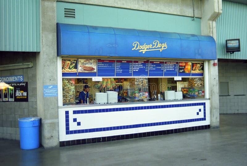Stadio dei Dodgers - Los Angeles Dodgers fotografia stock