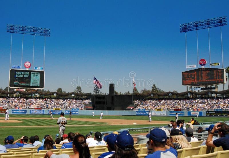 Stadio del Dodger fotografie stock libere da diritti