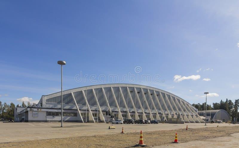 Stadio del ghiaccio di Tampere immagini stock libere da diritti