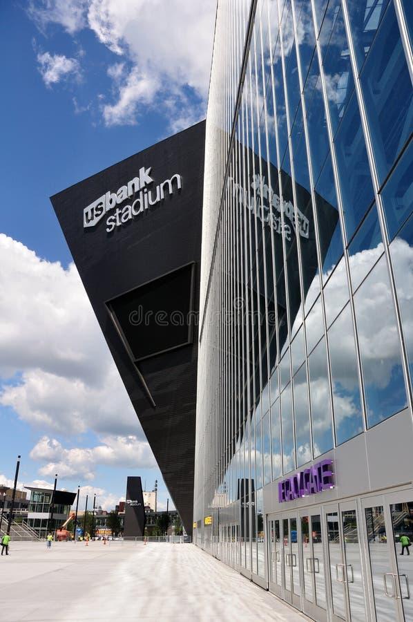 Stadio della Banca degli Stati Uniti di Minnesota Vikings a Minneapolis immagine stock