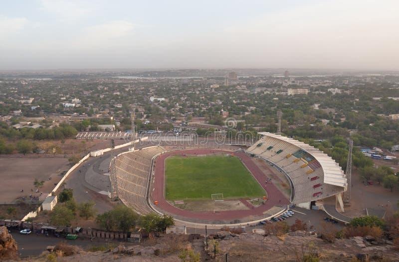 Stadio di Bamako fotografie stock
