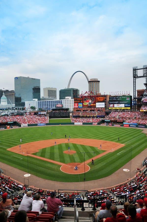 Stadio di Busch a St. Louis fotografia stock libera da diritti