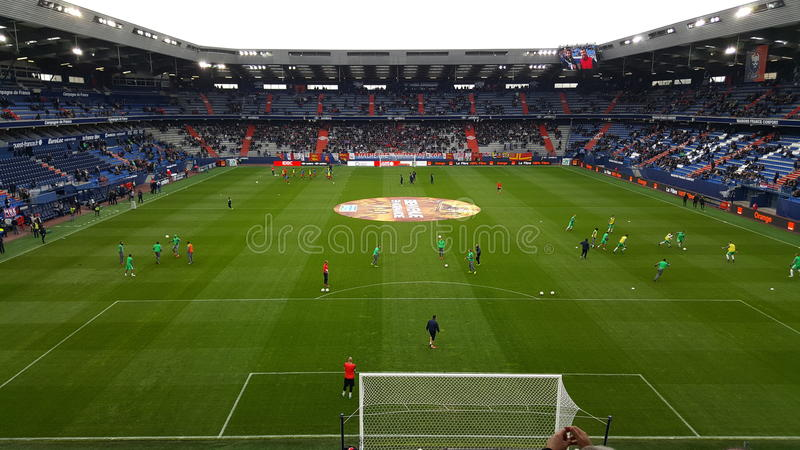 Stadio di Caen immagini stock libere da diritti