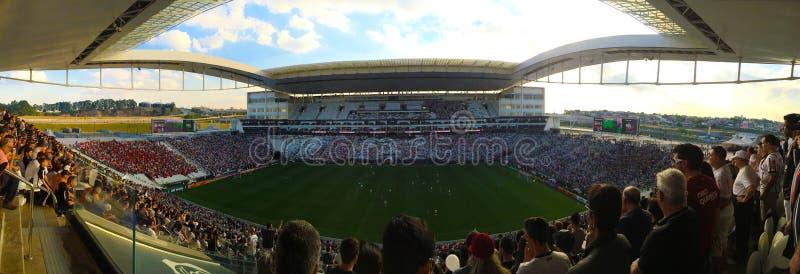 Stadio di calcio: Corinthians dell'arena fotografia stock libera da diritti