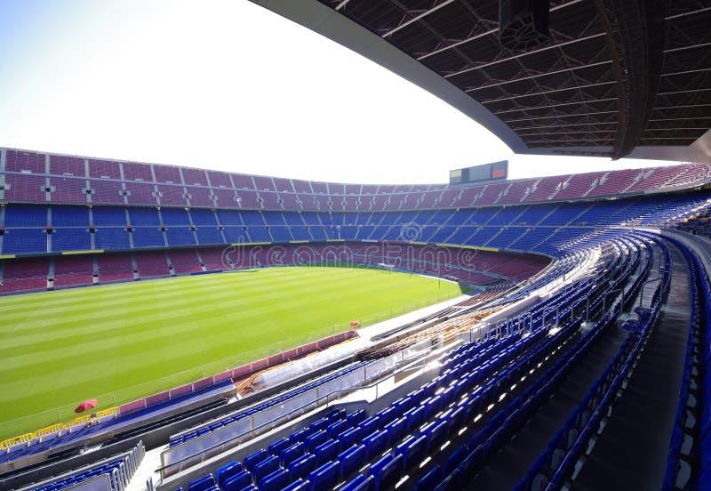 Stadio di calcio di calcio immagine stock