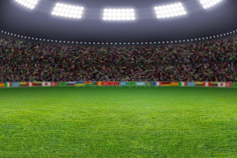 Stadio di calcio fotografia stock libera da diritti