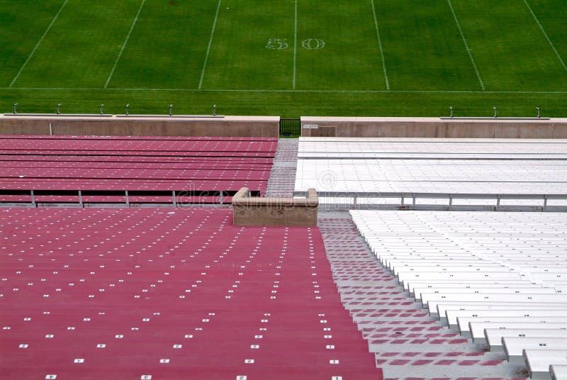 Stadio di football americano immagine stock