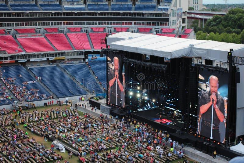 Stadio di football americano del campo di LP a Nashville fotografia stock