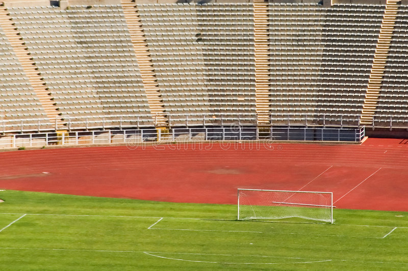 Stadio di football americano Johannesburg fotografia stock