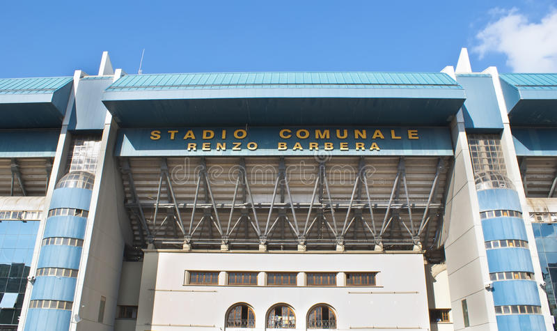 Stadio di football americano a Palermo immagini stock libere da diritti