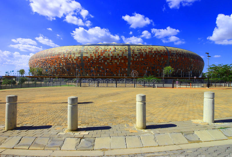 Stadio di Johannesburg FNB immagine stock