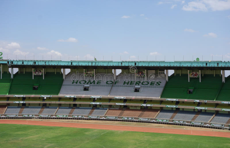 Stadio di Kasarani Safaricom a Nairobi immagini stock