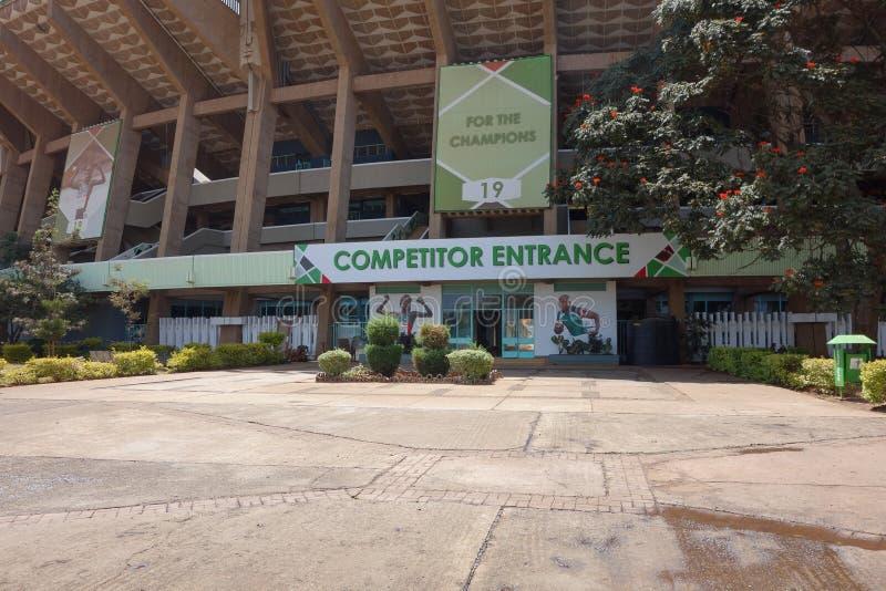 Stadio di Kasarani Safaricom a Nairobi fotografie stock libere da diritti