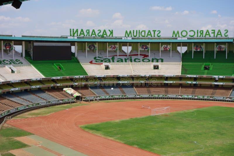 Stadio di Kasarani Safaricom a Nairobi immagine stock libera da diritti