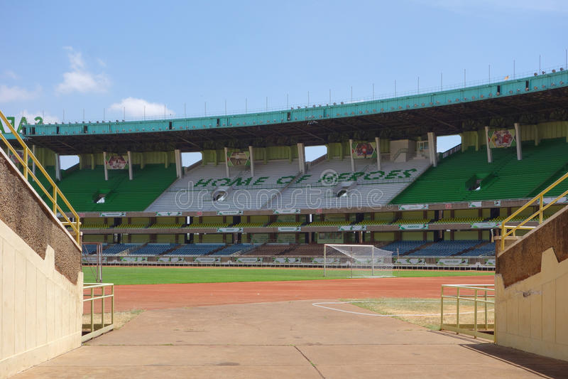 Stadio di Kasarani Safaricom a Nairobi fotografia stock