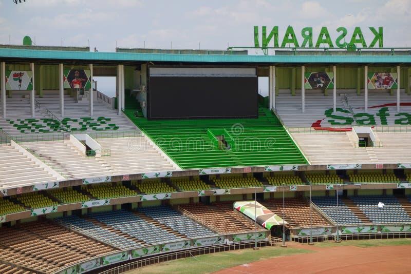 Stadio di Kasarani Safaricom a Nairobi immagini stock libere da diritti