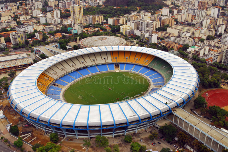 Stadio di Maracana fotografia stock