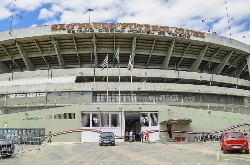 Stadio di Morumbi, PS Brasile di Sao Paulo immagini stock libere da diritti