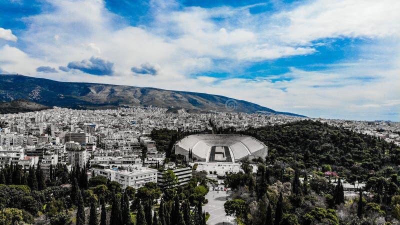 Stadio di Panathenaic immagine stock
