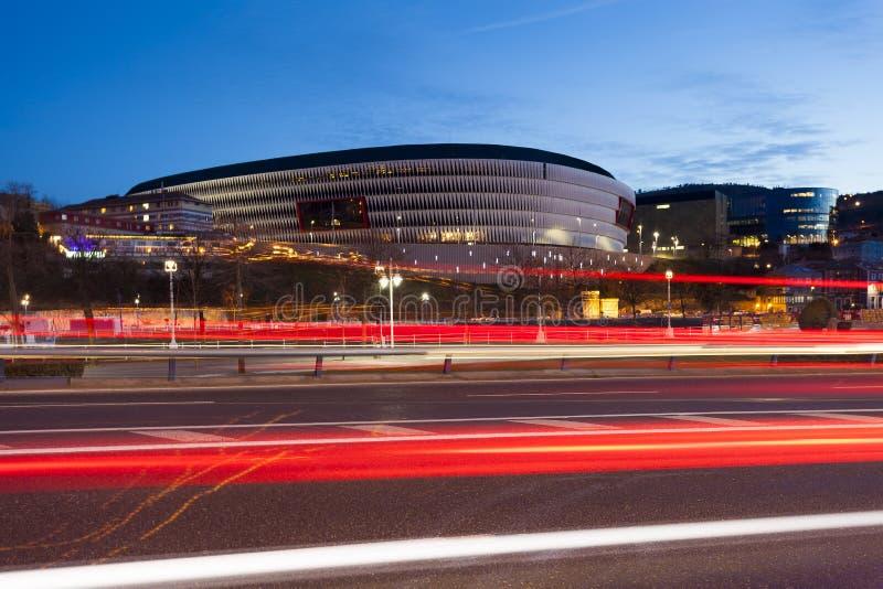 Stadio di San Mames, Bilbao, Bizkaia immagini stock