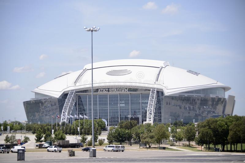 Stadio di AT&T, Arlington il Texas fotografia stock libera da diritti