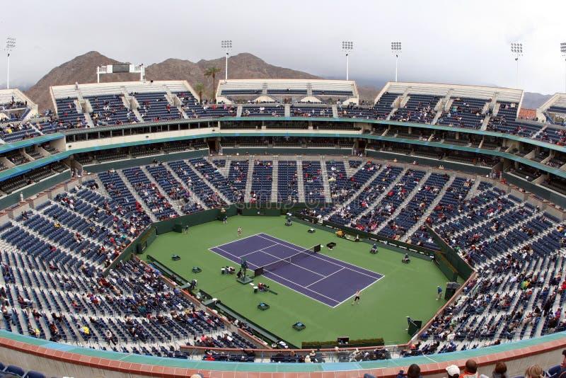 Stadio di tennis fotografie stock
