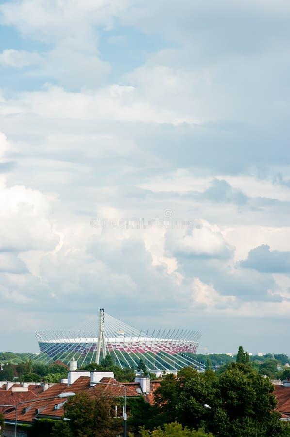 Stadio di Varsavia fotografia stock libera da diritti
