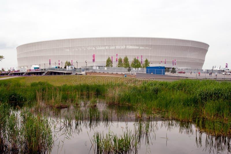 Stadio di Wroclaw immagine stock libera da diritti