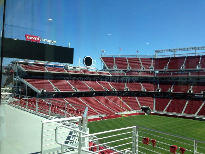 stadio 49ers fotografia stock libera da diritti