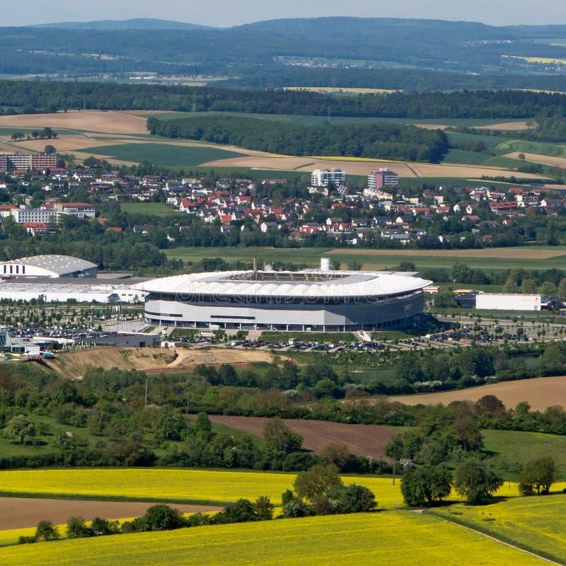 Stadio, Hoffenheim immagine stock