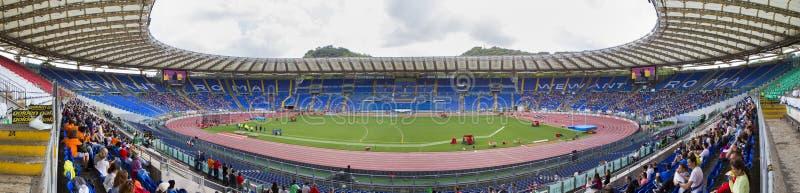 Stadio Olimpico bei Diamond League stockbild