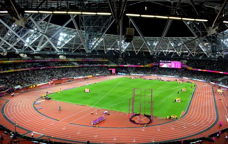 Stadio olimpico di Londra fotografie stock libere da diritti