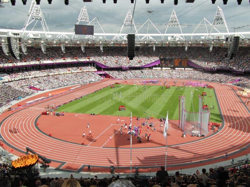 Stadio olimpico di Londra 2012 immagine stock libera da diritti