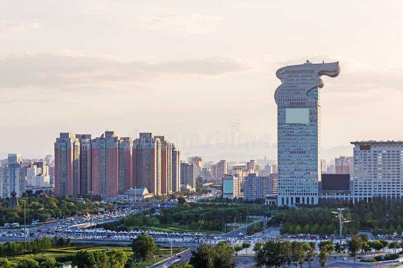 Stadio olimpico di Pechino fotografia stock libera da diritti