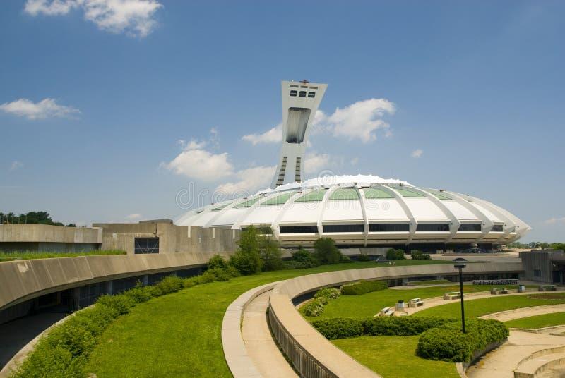 Stadio olimpico, Montreal fotografia stock libera da diritti