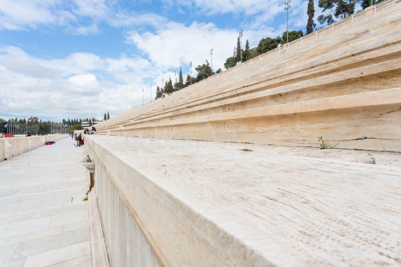 Stadio panatenaico a Atene immagine stock libera da diritti