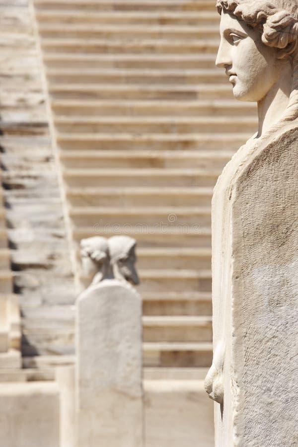 Stadio panatenaico a Atene La Grecia immagini stock