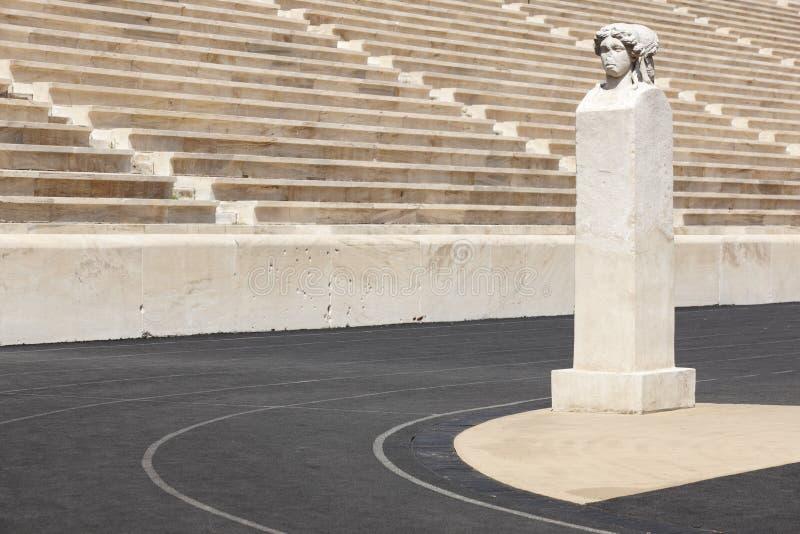 Stadio panatenaico a Atene La Grecia immagine stock