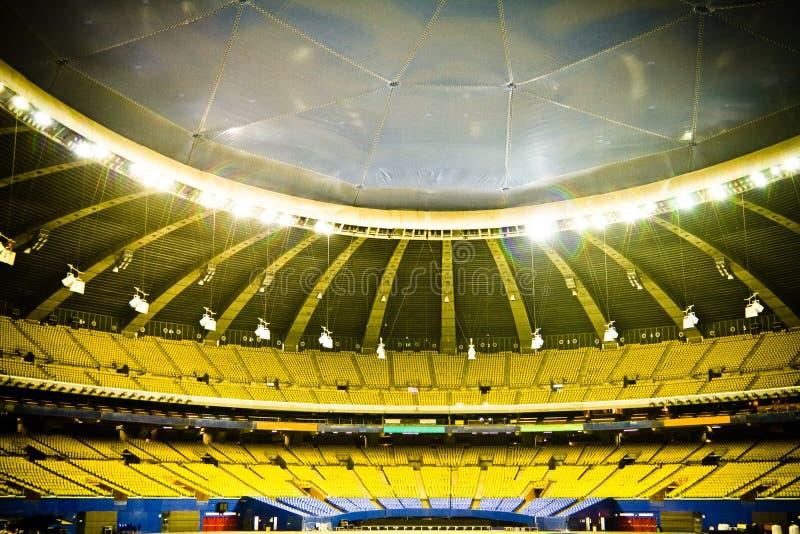 Stadio di baseball vuoto immagine stock libera da diritti