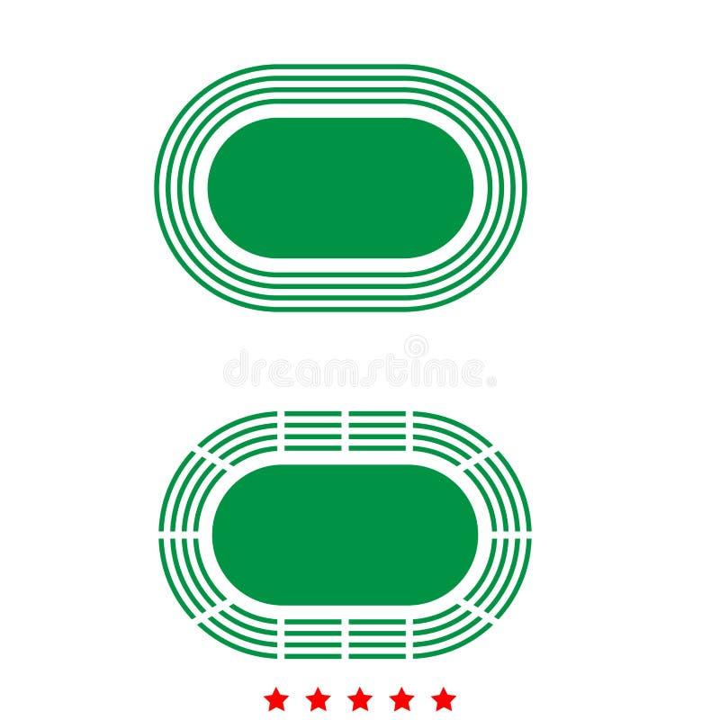 Stadion är det symbolen vektor illustrationer