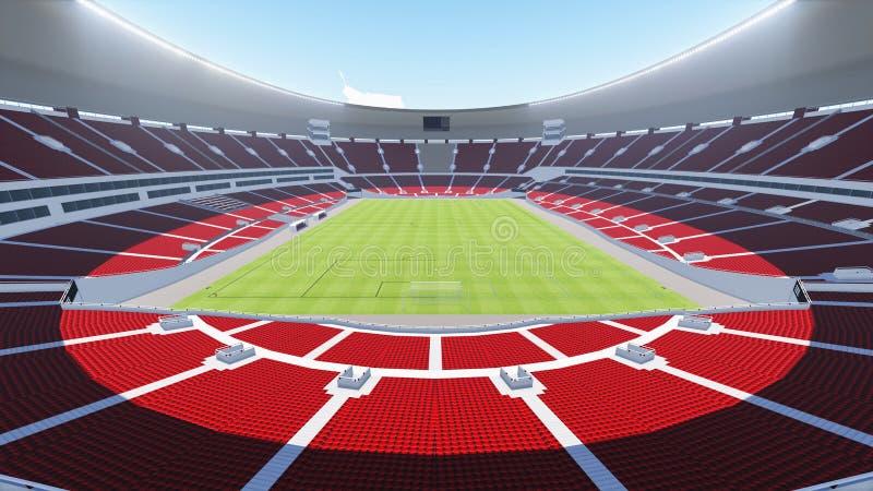 stadion royaltyfri illustrationer