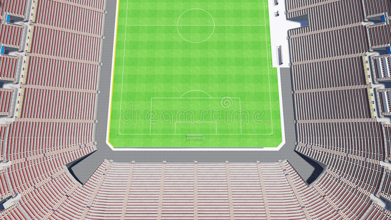 stadion stock illustratie