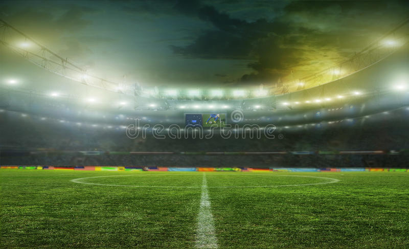 stadion stock afbeeldingen
