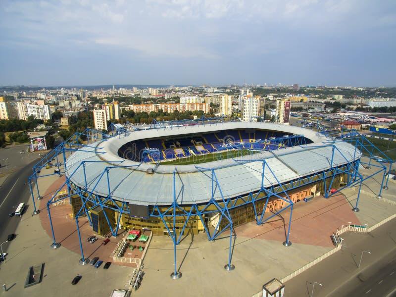 stadion stock foto's