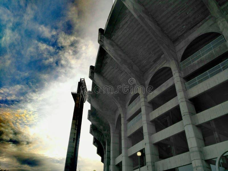 Stadion av siam royaltyfri foto