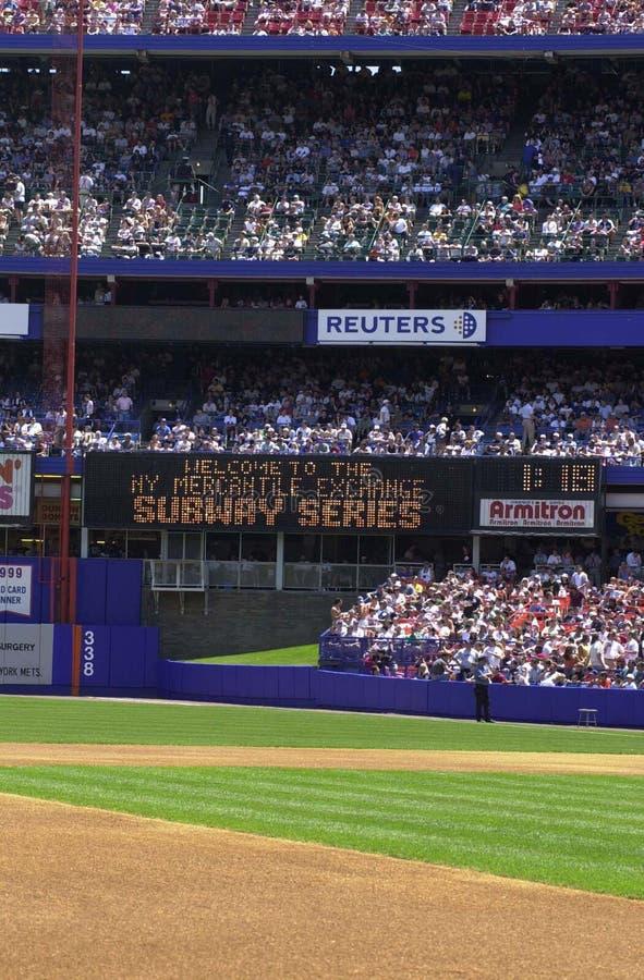 Stadion Baseballowy Z fan obraz royalty free
