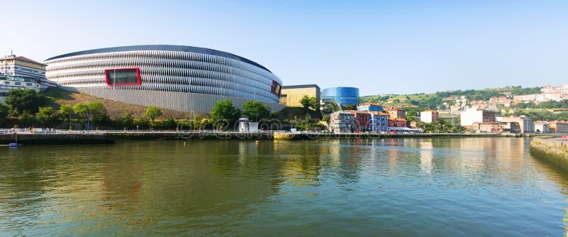 Stadion in Bilbao spanje royalty-vrije stock fotografie